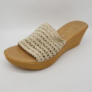 New Mila Paoli Lightweight Platform Wedge Sandals